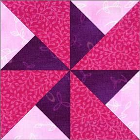 Quilt Patterns Windmill Block : Pinwheel