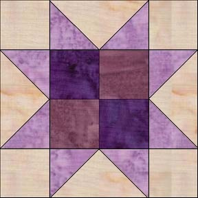Sawtooth Star - Delaware Quilts